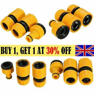 Garden Water Watering Hose Pipe Tap Plastic Connector Adaptor Fitting Universal • 4.29£