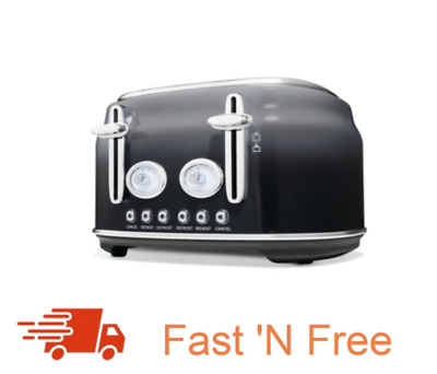 AU84.99 • Buy New 4 Slice Ombre Toaster With Adjustable Browning Control