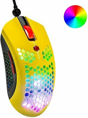 AU29.99 • Buy LED Wired Wireless Gaming Mouse USB Ergonomic Optical For PC Laptop Rechargeable