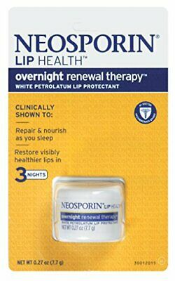 Neosporin Overnight Lip Health Renewal Therapy 0.27 Ounce Jar 8ml 6 Pack • 40.07£