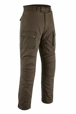 Classic Brown Motorcycle Protection Waxed Cotton Waterproof Trouser Pants • 79.99£