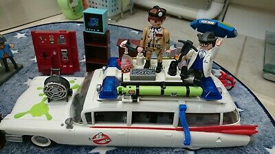 Playmobil Ghostbusters Bundle Ecto 1 Car Fire Station Ghost Busters Lego Q • 109.99£