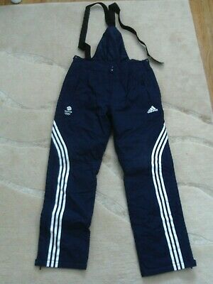 Adidas Team GB Ski Pants Trousers Mens 32  NEW Winter Olympic Official Snowboard • 74.95£