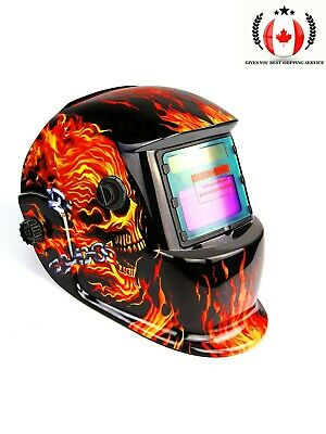 $ CDN61.82 • Buy Solar Powered Auto Darkening Welding Helmet W/Adjustable Shade Range Mask Shield