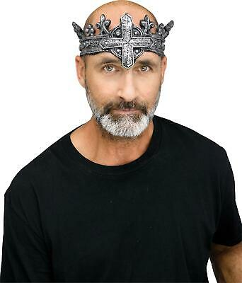 £20.94 • Buy Mens Medieval King Gothic Crown Halloween Costume Accessory
