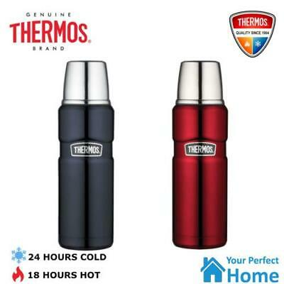 AU32.95 • Buy Thermos King Vacuum Insulated Stainless Steel Flask Beverage Bottle 470ml