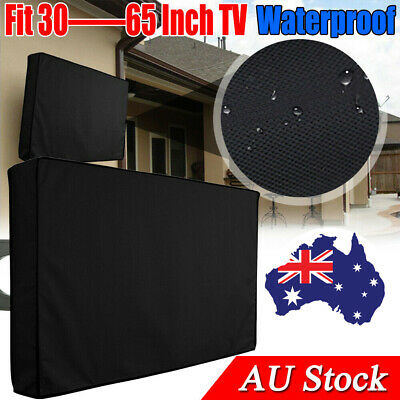 AU19.99 • Buy 30-65 Inch Dustproof Waterproof TV Cover Outdoor Patio Flat Television Protector