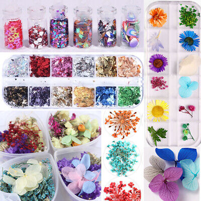 Resin Filler Dried Flower Glitter Decor Silicone Mold Jewelry Marking Phone Case • 5.85£