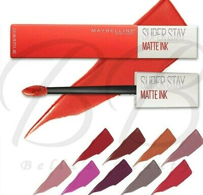£4.45 • Buy MAYBELLINE SuperStay Matte Ink Long Lasting Liquid Lipstick *ALL SHADES* SEALED