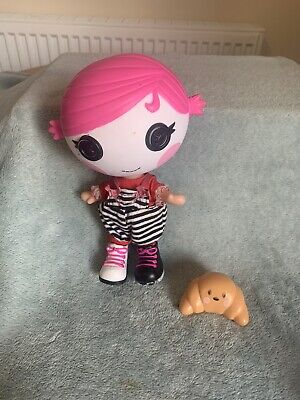 Lalaloopsy Littles - Sherri Charades Doll With Little Crossaint Friend • 12.99£