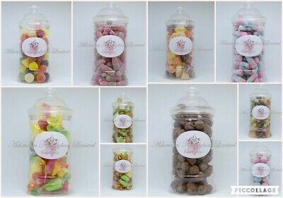 Victorian Sweet Jars Filled With Traditional, Retro Or Modern Sweets   • 7.99£