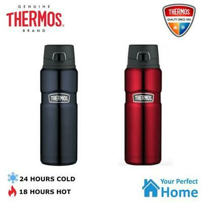 AU39.75 • Buy Thermos King Stainless Steel Vacuum Insulated Bottle 710ml Flip Lid