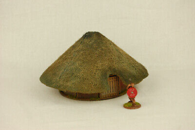 £9.99 • Buy Dark Age CELTIC ROUND HOUSE HOUSE  MDF 28mm Scale Building J017