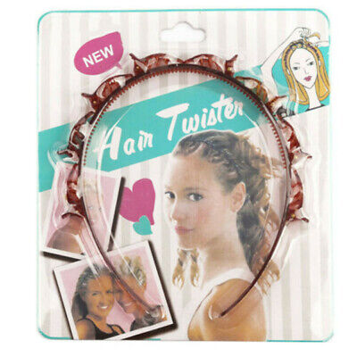 $1.69 • Buy Women Hair Accessories Twist Clip Headband With Toothed Headband Braid Tool US