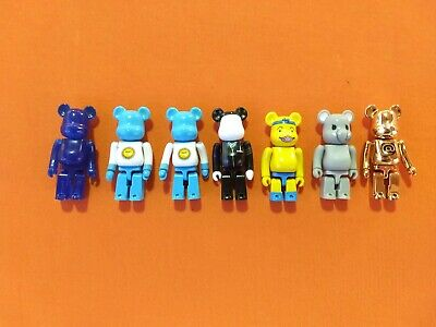 $50 • Buy LOT Of 7 BE@RBRICK BEARBRICK FIGURES / CONRAD LEACH ODEN TO THE PEOPLE / MEDICOM