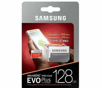 $19.95 • Buy SAMSUNG EVO Plus Micro SD 128GB Class10 U3 Flash Memory Card W/SD Adapter