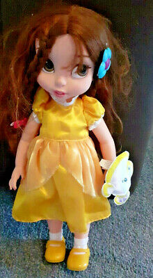 17  Disney Princess Belle Toddler Doll With Chip Soft Toy VGC P&Pinc • 12.99£