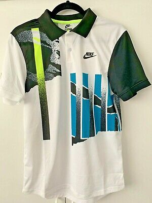 £150 • Buy Andre Agassi Nike Challenge Court Authentic Nike Tennis Shirt Size Small 2020