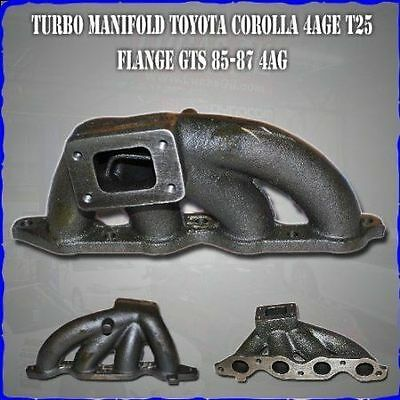 AU279.99 • Buy 999-Cast Turbo Exhaust TURBO T2 Manifold For Toyota Corolla 4AGE 4AG 4AGZE