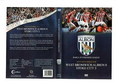 West Brom V Stoke City Dvd Premier League 20th Nov 2010 • 10£