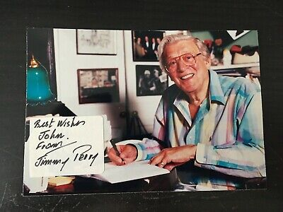 £25 • Buy Jimmy Perry - Comedy Script Writer - Dads Army - Superb Signed Photograph