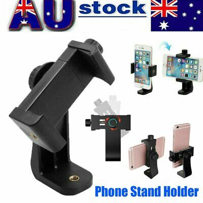 AU9.95 • Buy Universal Smartphone Tripod Adapter Phone Stand Holder Mount For IPhone Samsung