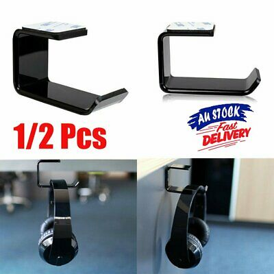 AU8.95 • Buy Universal Gaming DJ Gamer Headphone Stand Headset Hanger Bracket Holder Rack GD