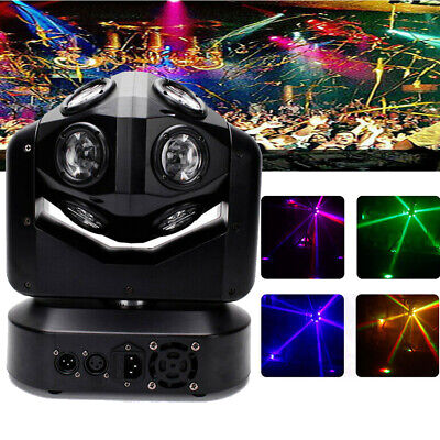 £135.99 • Buy UK 150W RGBW 4 In 1 LED DMX Moving Head Stage Lighting Wash DJ Disco Party Light