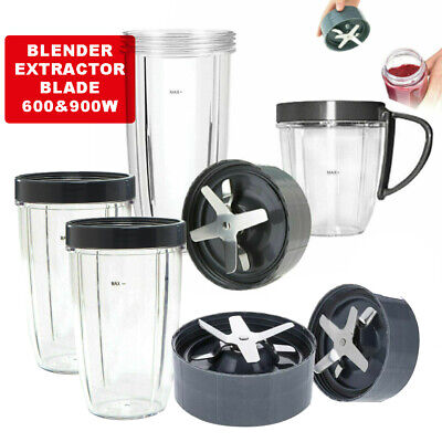 AU22.99 • Buy Colossal Cups Extractor Blade For 600 900w Nutribullet Blender Replacement