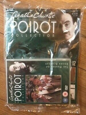 The Poirot Collection DVD & Magazine **NEW** Multiple Available With Discounts • 3.99£