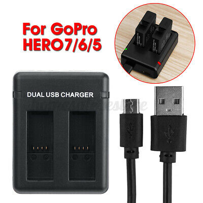 $ CDN14.82 • Buy AHDBT-5011220mAh Lithium Battery Or Dual Storage Charger For Gopro Hero 5 6 7