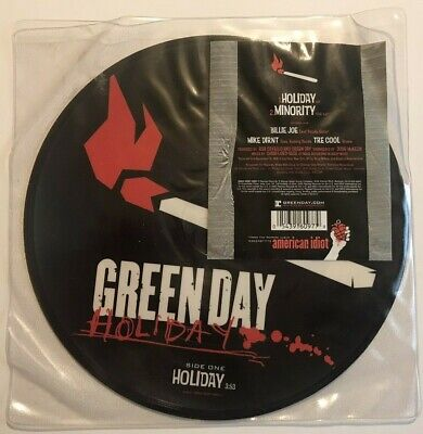 Green Day - Holiday - 7  Picture Disc - Reprise Records - 2005 • 12£