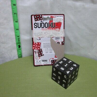 SUDOKU Magic Cube Puzzle NWT Twisting Numbers Westminster Game 2007 • 7.07£