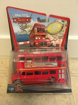 $ CDN29 • Buy Disney Pixar Cars 2 Deluxe OVER-SIZED Double Decker Bus - SEALED BOX - UNUSED