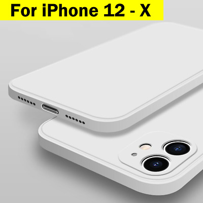 AU8.95 • Buy IPhone 11 Case 12 Pro Max SE X XR XS Shockproof Silicone Cover Bumper For Apple