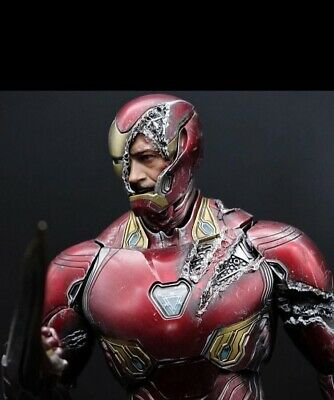 $ CDN668.15 • Buy Hot Toys Iron Man Mark L 50 Avengers (( Battle Damaged))