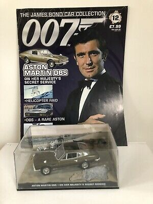 Aston Martin DBS James Bond 007 Diecast Car Collection -On Her Majesty's SS 1969 • 7.90£