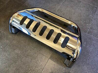 AU140 • Buy FJ Cruiser Stainless Steel Nudge Bar With Bolt On Skid Plate