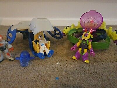 Imaginext Alpha Star Space Rocket And Ion Orbiter Spaceship Lights Sounds • 25£