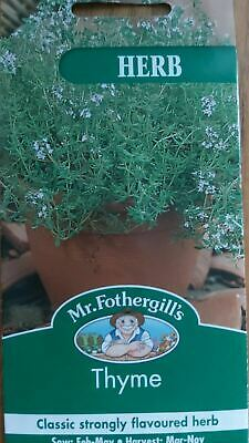 Mr Fothergills - Pictorial Packet - Herb - Thyme - 1000 Seeds • 2.10£