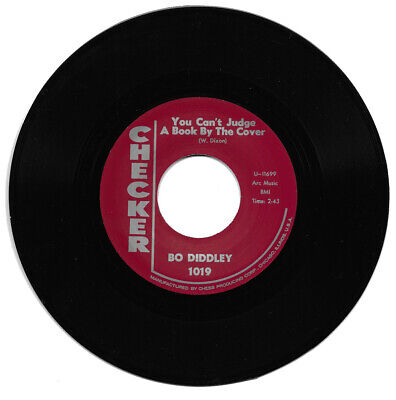 £8.99 • Buy Bo Diddley You Can't Judge A Book By The Cover / I Can Tell R&B Reissue