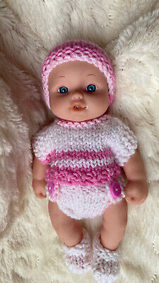 Baby Doll Clothes Outfit 6 Inch  Chubby Doll Reborn Sculptured (no Doll) Monkey • 5.50£