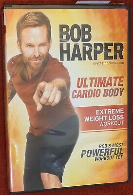 BOB HARPER Ultimate Cardio Body DVD Extreme Weight Loss Workout • 9.89£