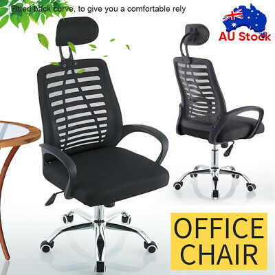 AU56.34 • Buy Ergonomic Executive Office Computer Chair Breathable Mesh Cushions Support Seat