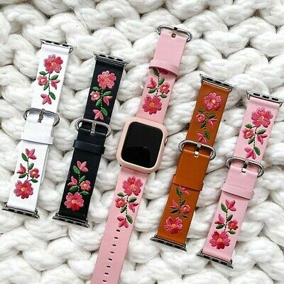 AU24.89 • Buy For Apple Watch Series 38/40/42/44mm 5/4/3/2/1Iwatch Luxury Band Leather Strap