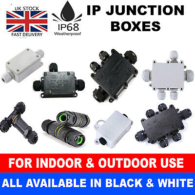 £4.69 • Buy 2/3/4/5/6 Way Ip68 Waterproof Junction Box Cable Gland Connector Terminal