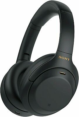 SONY WH-1000XM4 Premium Wireless Bluetooth Noise-Cancelling Headphones Brand New • 348.99£
