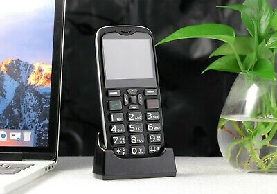 AU129.99 • Buy 4G Unlocked Big Button Mobile Phone For Seniors Elderly With SOS Button