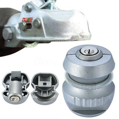 AU17.99 • Buy Insertable Trailer Coupling Hitch Lock Tow Ball Caravan For Security