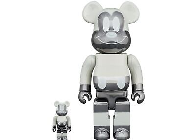 $599.99 • Buy BE@RBRICK DISNEY MICKEY MOUSE FRAGMENT 100% 400% BEARBRICK Reverse Ver *In Hand*